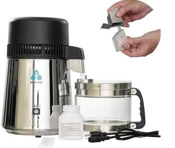 ECO WORTHY One Gallon Water Distiller
