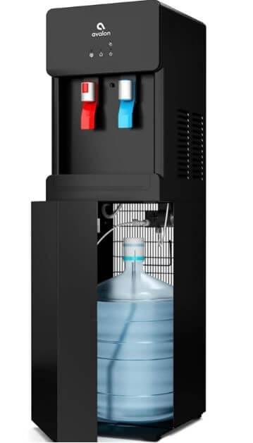 Avalon A6BLWTRCLRBLK Touchless Bottom Loading Cooler Dispenser