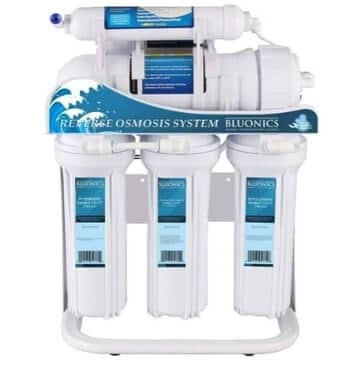 Bluonics High Capacity 400GPD Tankless 5 Stage Reverse Osmosis