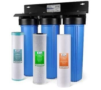 iSpring WGB32BM Whole House Iron Filter