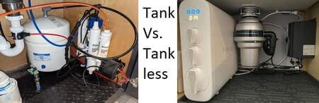 Tank vs. Tankless RO System